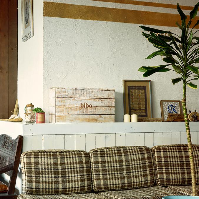 防災備蓄セットbibo woodの設置イメージ