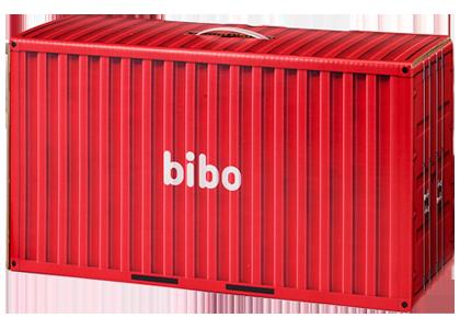 防災備蓄セットbiboのデザイン container