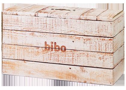 防災備蓄セットbiboのデザイン wood