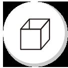 防災備蓄セットbibo(ビーボ)の共用箱ユニット