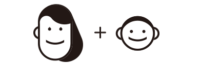 防災備蓄セットbibo(ビーボ)の男性+女性の組み合わせ